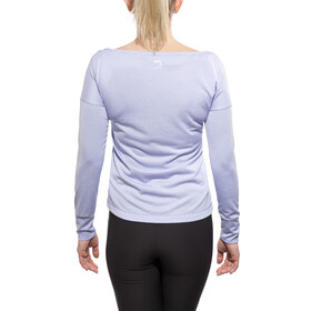 Odlo TEBE T-Shirt L/S Women purple impression melange